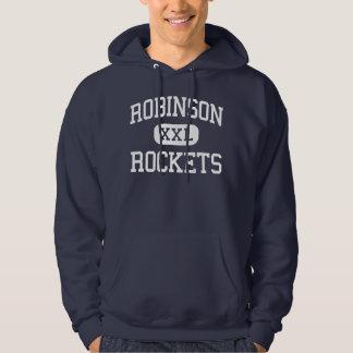 Robinson - Rockets - High School - Robinson Texas Hooded Sweatshirt