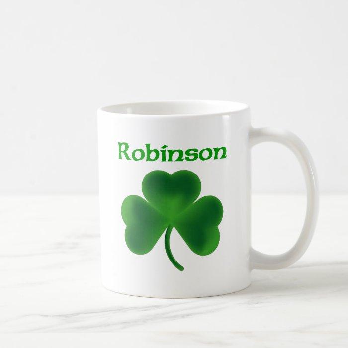 Robinson Shamrock Coffee Mug