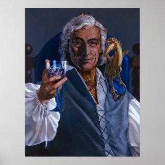 Robinton, Masterharper de Pern - impresión o Póster