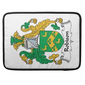 Robison Family Crest Sleeve For MacBooks