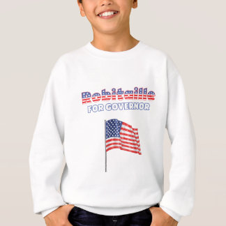 Robitaille for Governor Patriotic American Flag Sweatshirt