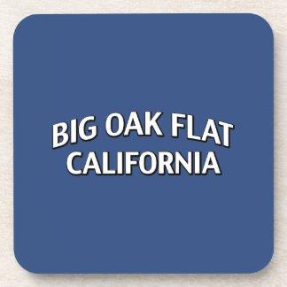 Roble grande California plana Posavasos De Bebidas