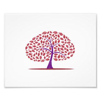 roble púrpura rojo garabateado design.png foto