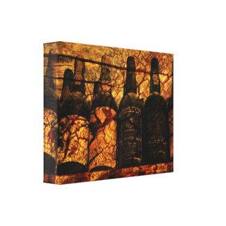 Roble suave lienzo envuelto para galerias