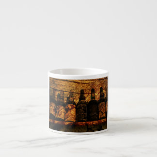 Roble suave taza espresso