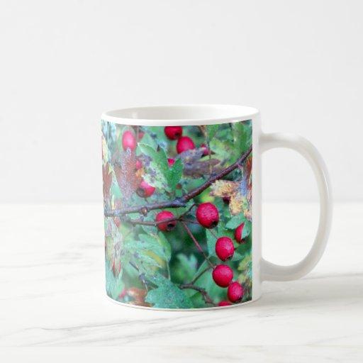 Roble y bayas taza de café