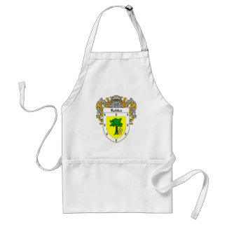Robles Coat of Arms (Mantled) Adult Apron