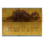 Robles de un día a la vez por el lago felicitaciones