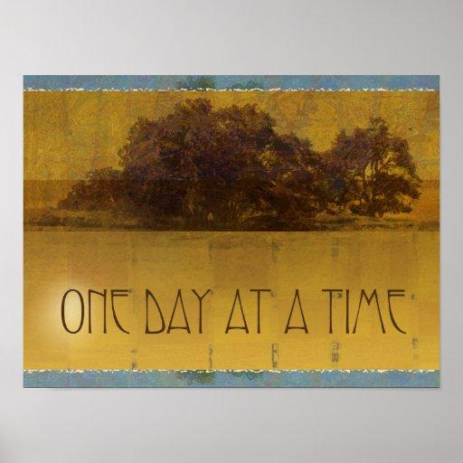 Robles de un día a la vez por el poster del lago