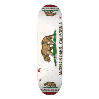 Robles del ángelus de la bandera de la república d skateboard