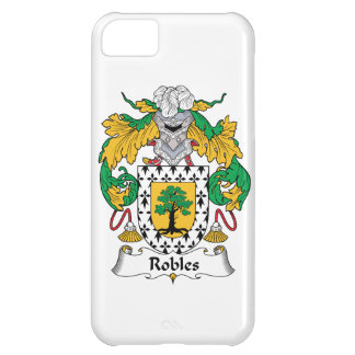 Robles Family Crest iPhone 5C Cases