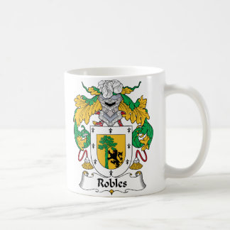 Robles Family Crest Coffee Mug