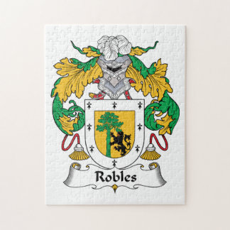 Robles Family Crest Puzzle