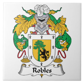 Robles Family Crest Tiles