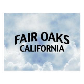 Robles justos California Tarjetas Postales