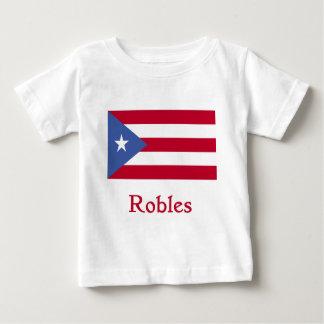 Robles Puerto Rican Flag Shirt