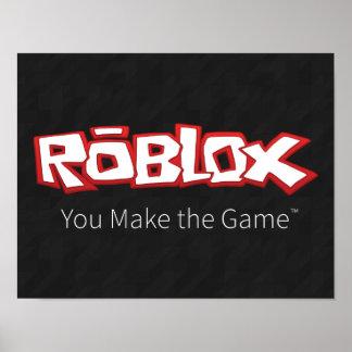 ROBLOX Logo Poster