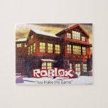 ROBLOX Winter Scene Puzzle