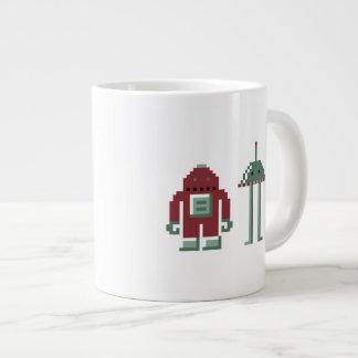 Robo & Bip Giant Coffee Mug