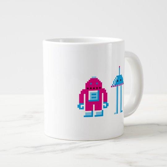 Robo & Bip Large Coffee Mug