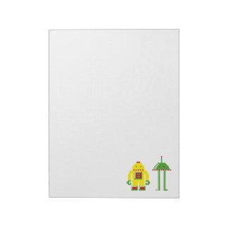 Robo & Bip Memo Notepads