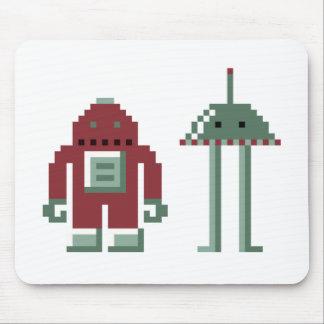Robo & Bip Mouse Pad
