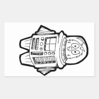 Robo-Bird Stickers