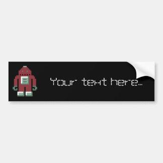 Robo Bumper Sticker
