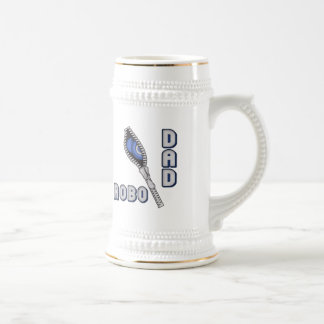 Robo Dad Father's Day Gifts Beer Stein