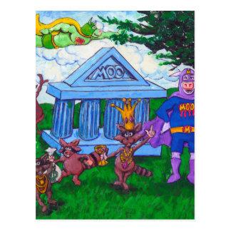 Robo del mapache tarjeta postal