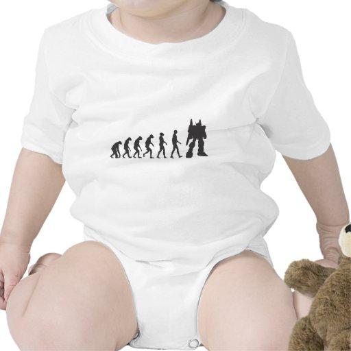 Robo-Evolución Trajes De Bebé