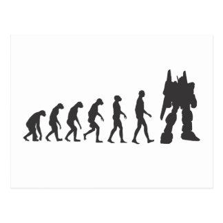 Robo-Evolution Postcard