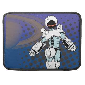 Robo Girl MacBook Pro Sleeves