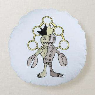 Robo God monster Round Pillow