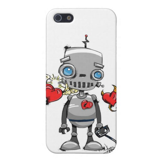 Robo-Love Cases For iPhone 5