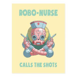 Robo-Nurse Postcard