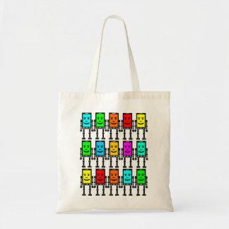 Robo Phones Tote Bag