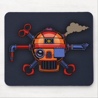 Robo Pirate II Mouse Pads