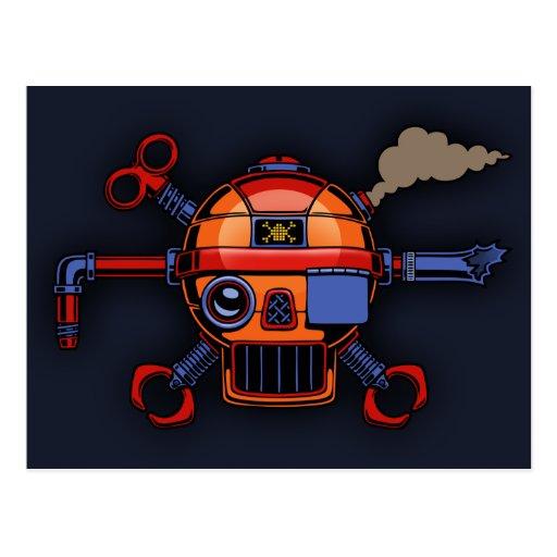 Robo Pirate II Postcard