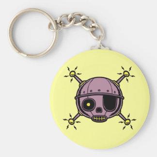 Robo Pirate Keychain