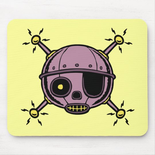 Robo Pirate Mouse Pad