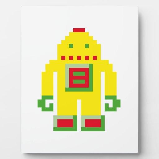 Robo Placa De Plastico