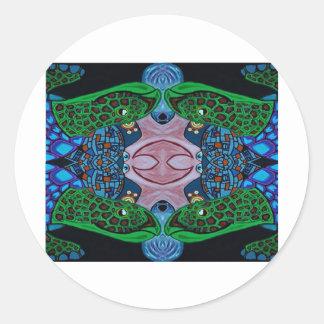 robo turtle stickers