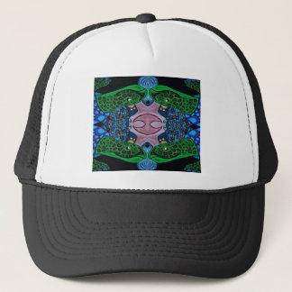 robo turtle trucker hat