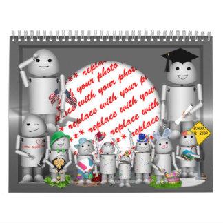 Robo-x9 Calendar Photo Frame