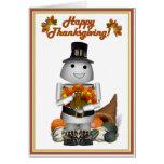 Robo-x9 Celebrates Thanksgiving Card