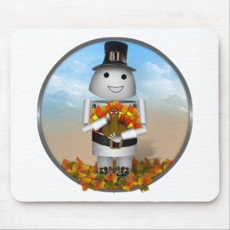 Robo-x9 Celebrates Thanksgiving Mouse Pad