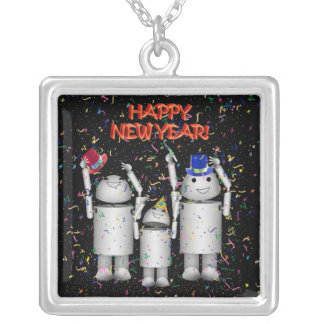 Robo-x9 Celebrates the New Year Personalized Necklace