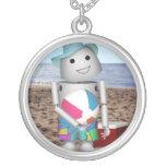 Robo-x9 en la playa grimpola