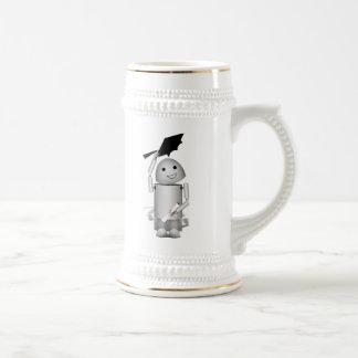 ¡Robo-x9 graduado - casquillos apagado! Taza De Café